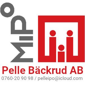 pelle backrud företagslogga